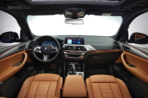 2018 bmw x3 interior exclusive live photos of the new 2018 bmw x3