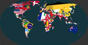 World Map Flags by 1914 World Map Made Of Flags 5082x2581 Pics
