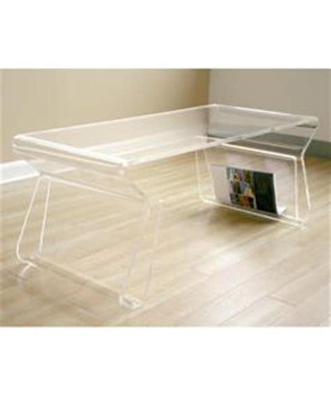 Overstock Acrylic Coffee Table with Adair Acrylic Coffee Table From Overstock