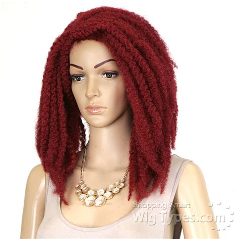 new style twist marley 1b braided synthetic lace front marley wig wigs by unique