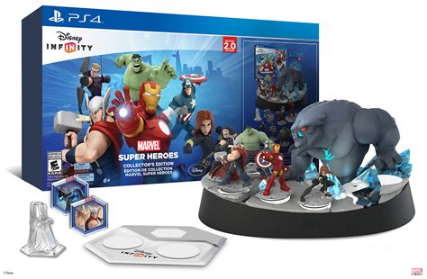 marvel heroes infinity disney infinity marvel heroes collector s edition