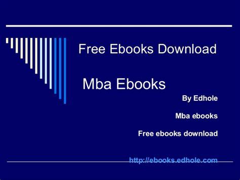 Mba Ebooks Free by Mba Ebooks Edhole