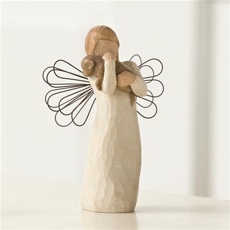 angel of comfort willow tree angel of friendship willow tree figurine by susan lordi