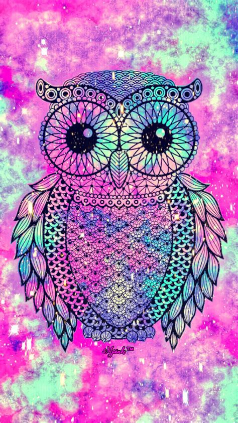 imagenes hipster moradas cute owl galaxy iphone android wallpaper owl lockscreen