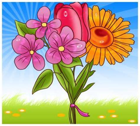 draw spring flowers step  step flowers pop