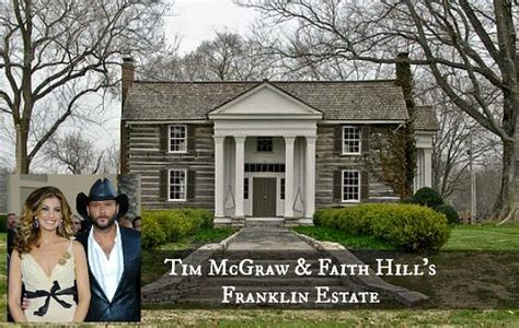 Tim Mcgraw House by Faith Hill Tim Mcgraw Selling Farm In Tennessee Hooked