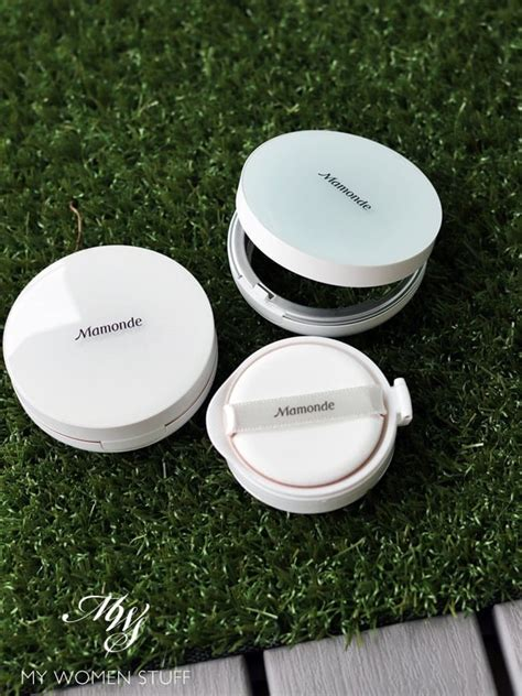 Mamonde Cushion Puff review mamonde brightening cover watery cushion and