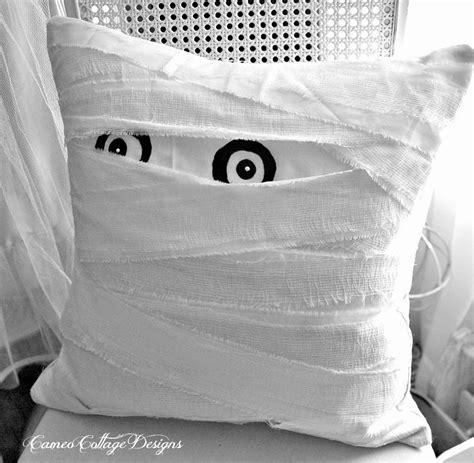 The Mummy Pillow cameo cottage designs my pottery barn mummy decorative