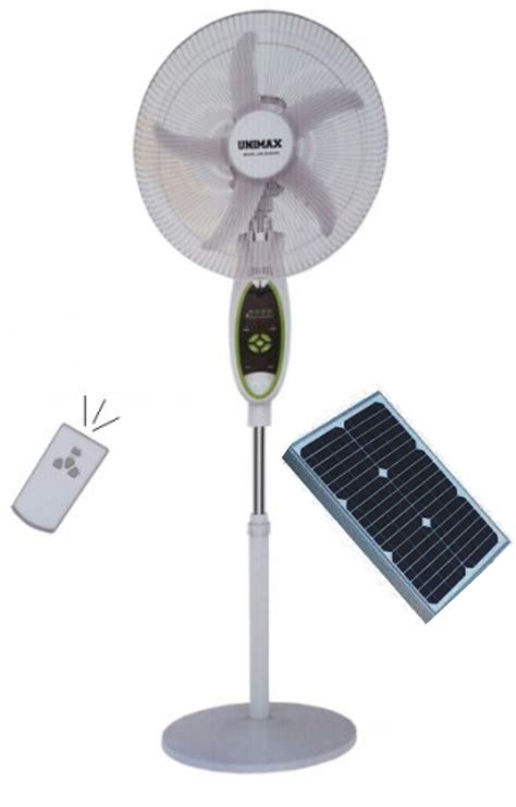 how to a solar fan solar rechargeable fans with led lights 16inch