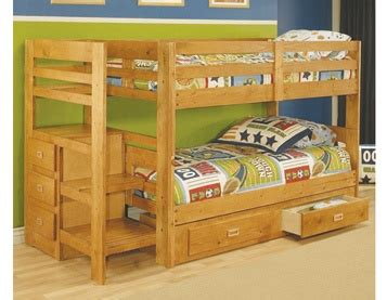 Bunk Bed Without Bottom Bunk 1000 Images About Stair Step Bunk Beds On Pinterest Bunk Beds With Storage Pine Bunk Beds