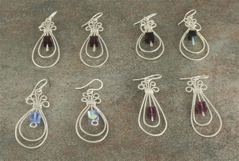 earring ideas jewelry wire jewelry earrings jewelry ideas