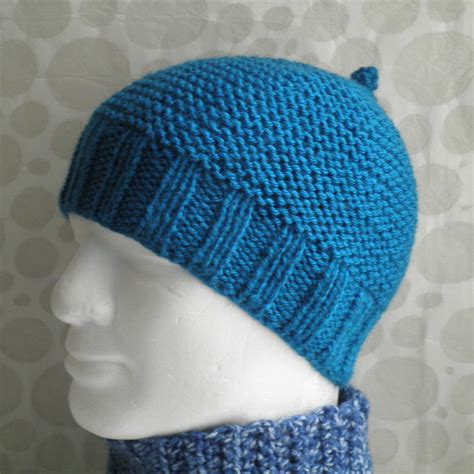 simple pattern for knitted beanie knitting pattern mans simple beanie pattern knit