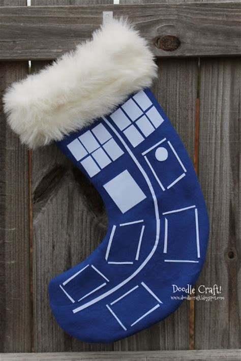 doctor who christmas diy doodlecraft doctor who