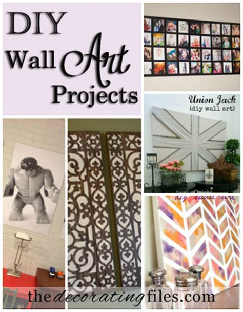 Diy Wall Art Thrifty Thursday 11 Wall Decor Diy