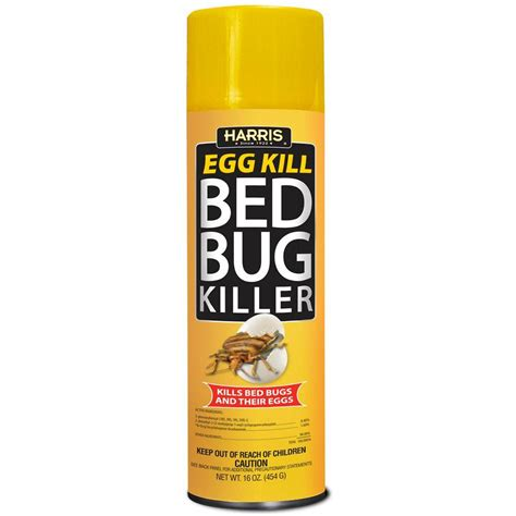 harris  oz egg kill bed bug spray egg   home depot