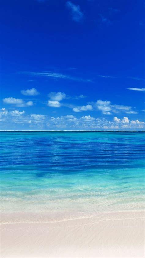 peaceful ocean sea blue lovely