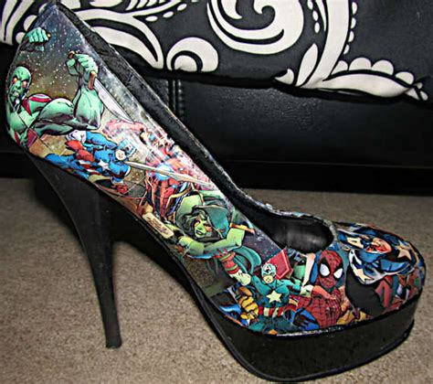Decoupage High Heels - fierce stilettos decoupage high heels
