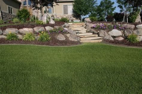 landscaping a sloped backyard backyard landscape pictures and find