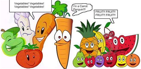 vegetables vs fruits question corner question 16 club penguin club