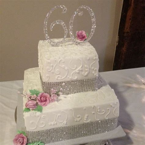 60th Anniversary Decorations by 25 Best 60th Anniversary Cakes Ideas On