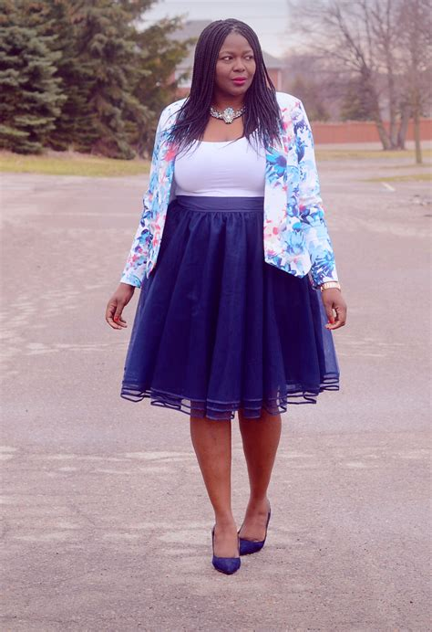 navy tulle skirt my and curls