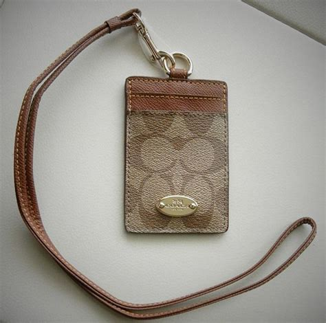 Coach Id Lanyard Sign Saddle Platinum 1 1000 images about wallets other accessories on coins shops and patent leather