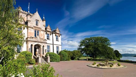 checking in a countryside escape in scotland at cameron