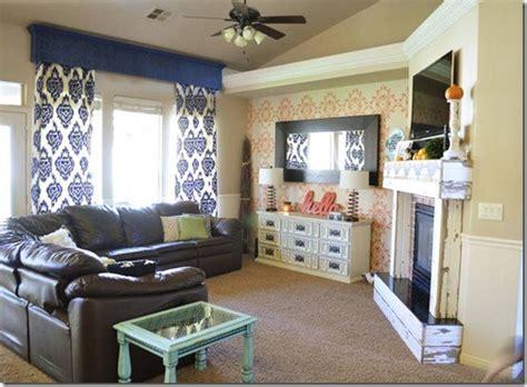 diy livingroom all things thrifty
