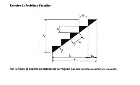 hauteur d une re d escalier 3237 probl 232 me d escalier forum de maths 615331