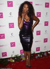 Worst Dress Of The Year Vivica Fox In Naeem Khan by Brandi Glanville Almost Suffers A Wardrobe Malfunction On