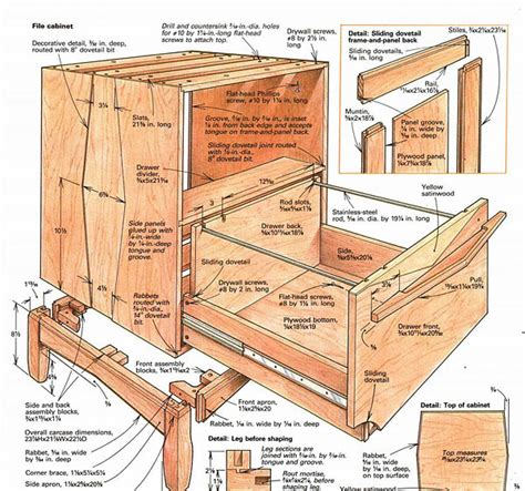 build a wooden file cabinet building a file cabinet finewoodworking