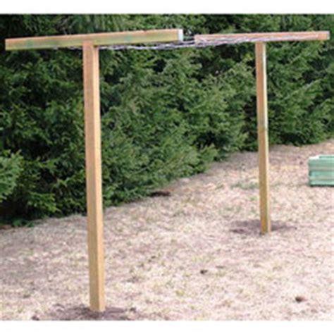 Fabriquer Un Etendoir A Linge Exterieur En Bois by Poteaux Linge Eprofeel Tous Nos Catalogues Produits En