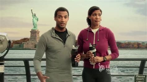 black woman liberty mutual commercial black woman black man in liberty mutual commercial young