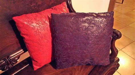 cuscini ecopelle cuscini ecopelle ricamata per la casa e per te