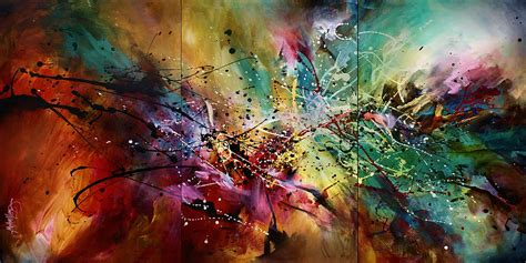 all artist all at once painting by michael lang