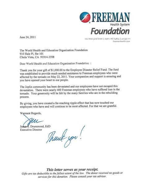 giving donation letter template giving donation letter template business
