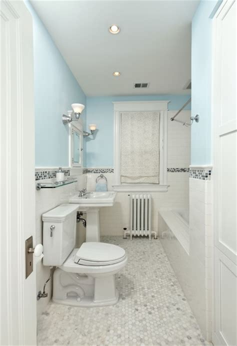 white border tiles bathrooms clean white grey bathroom with tile border home design