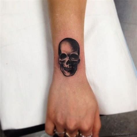 skull tattoos on wrist 100 best wrist tattoos