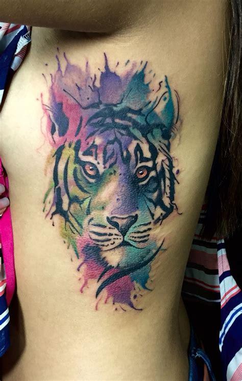 watercolor tattoos tiger tiger watercolor by juan david castro r