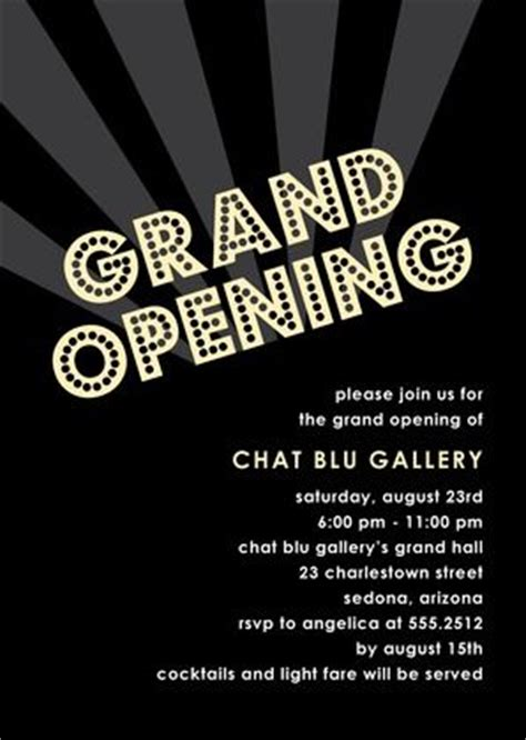 24 best grand opening invitations images on pinterest