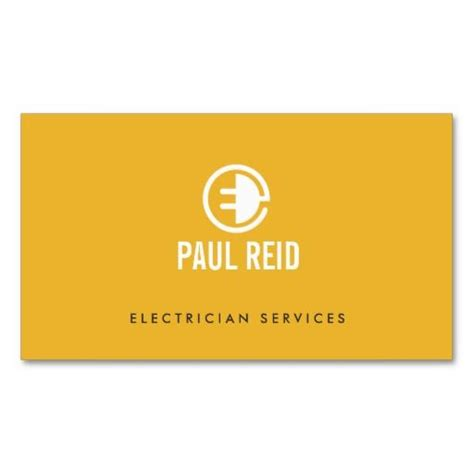 31 Best Business Cards For Electricians Electrical Services Images On Pinterest Business Card Cheap Business Card Templates