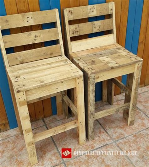 sillas con palets mueblesdepalets net sillas