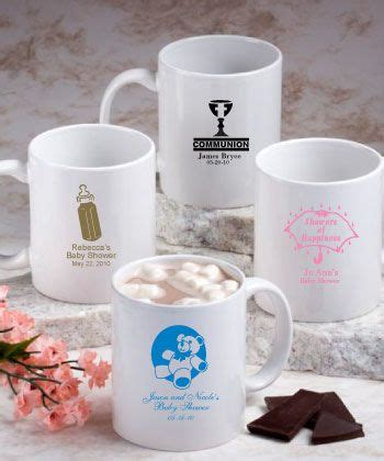 Coffee Mug Giveaways - 64 best images about most popular baby shower favors on pinterest design your own