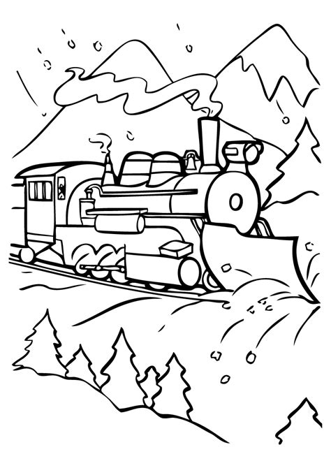 Best Photos Of Polar Bear Express Coloring Page Polar Polar Express Color Pages