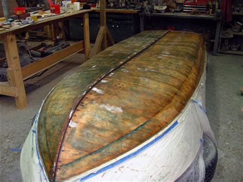 Donat Boat Zebec Lite ready now for light sanding priming and painting that ll wait until after
