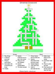 Christmas crossword christmas crossword puzzle