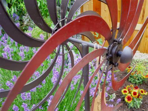Gartenzubehã R Shop by Windspiel Windrad Garten Figur Metall Wind Rad Sonne
