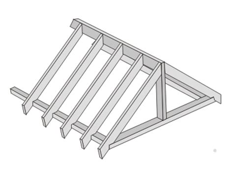 a frame roof a frame roof