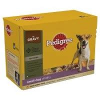 pedigree pouch real meals selection small dog 8 x 150g