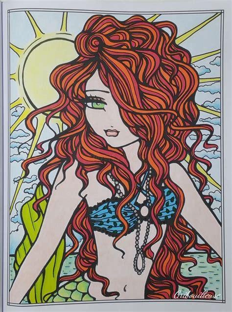 mermaids fairies other girls of whimsy coloring book 50 fan favs libro para leer ahora mermaids fairies other of whimsy coloriage anti stress mermaids and seahorses